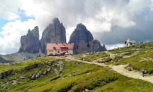 Ihr Tourenziel - die drei Zinnen in den Dolomiten