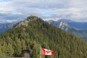 Blick vom Sulphur Mountain über das Bow Valley