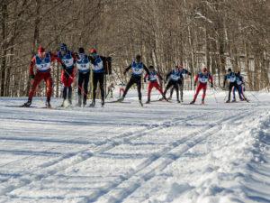 Die Wettbewerbe finden im riesigen Gatineau Park statt.