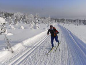 Finnland - Rajalta Rajalle Hiihto