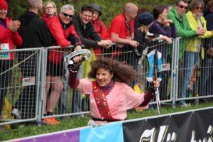 Die Rennsteig-Hexe ist mit voller Begeisterung dabei :-)