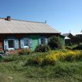 Das Haus unserer Gastfamilie im Dorf B. Goloustnoje
