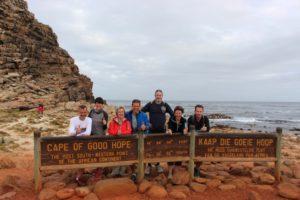 Das Kap der Guten Hoffnung steht natürlich auch auf dem Reiseprogramm