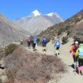 Oberhalb von 3500 m wird gewandert, zum Laufen ist hier die Luft zu dünn