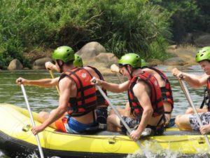 Rafting auf unserer Sri Lanka Tour