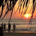 Traumhafte Sonnenuntergänge an der Westküste Sri Lankas