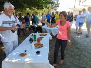 Gastlichkeit wird bei der Winzerfamilie von Stephanie Francisco großgeschrieben