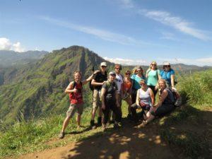 Unsere Reisegruppe auf Sri Lanka