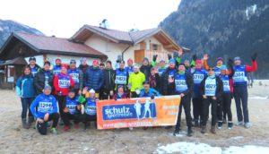Unsere schulz'schen Skifreunde kurz vor dem Start