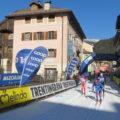 """Die Ortsdurchfahrt in Predazzo: hier endet die """"Light""""-Variante des Marcialonga"""