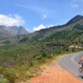 Fahrradtour am Bains Kloof Pass im Hinterland von Kapstadt