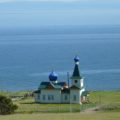Orthodoxe Kirche am Baikalufer