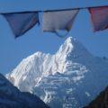 Ganesh I (Yangra Kangri) mit 7422 m, scheint zum Greifen nah