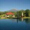 Eine der schönsten: die African View Lodge mit wunderbarem Blick auf den Mount Meru