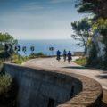 Mit Ausblick auf die azurblaue Adria