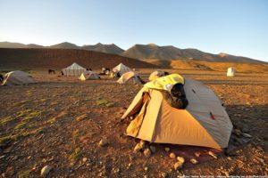 Unterkunft auf unserer Trekkingreise