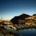 Abendstimmung im Hafen von Porto