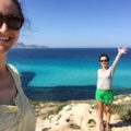 Unsere Reiseleiterinnen Theodoa und Eleonora auf Levanzo