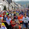 Deutschland - Rennsteiglauf - In Neuhaus am Rennweg - Start des Marathons