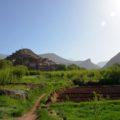"""""""Unser"""" Dorf im Bougmez-Tal: hier wohnen wir in einem rustikalen Gästehaus"""