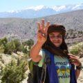 Unser Reiseleiter Samir: aufgewachsen hier im Bougmez-Tal, kennt er jeden Winkel