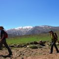Auf dem Weg zum Izourar-See, gelegen auf 2500 m Höhe
