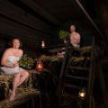 Die Rauchsauna können Sie bei der Seensucht-Tour und der Kräutertour ausprobieren