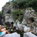 In der Tiberio-Schlucht