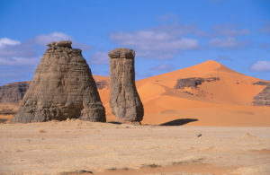 Algerien - Sahara - Sandsteinformation