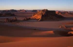 Algerien - Sahara im Abendrot