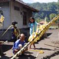 Diese Kunst ist auf Bali Sache der Männer
