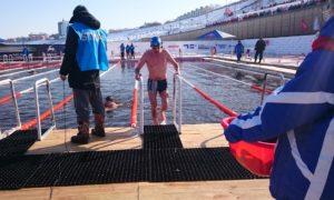 Der Standort der Eisschwimm-WM wechselt von Mal zu Mal