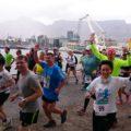 Beim internationalen Freundschaftslauf (5,6 km) waren dieses Jahr 69 Nationen beteiligt – alle gingen mit ihrer Landesflagge an den Start