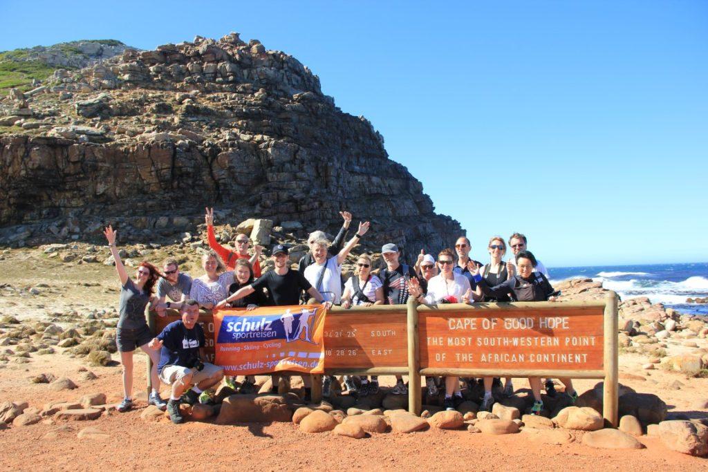 Am Kap der Guten Hoffnung mit schulz sportreisen