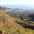 Ausblick während der Tafelbergbesteigung am 8. Tag unserer Reise