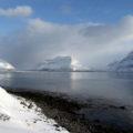 Im traumhaft schönen Önundarfjöður werden wir auch paddeln