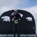 Ines vom Team schulz sportreisen nach der Expedition und dem Skimarathon aber auch wirklich geschafft und glücklich zugleich