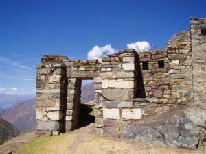 Ein Teil der freigelegten Mauern