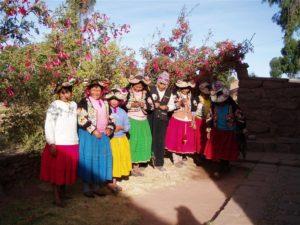 Am Titicacasee übernachten Sie bei einheimischen Bauern