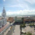 Kirche und Rathaus in Santiago de Cuba
