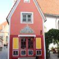 Eines der kleinsten Häuser der Altstadt