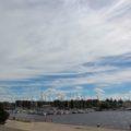 Tallinns Hafen vermittelt eine anziehende Atmosphäre