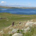 Am malerischen See Kindyktykul