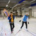 Vorteil der Skihalle: Schneegarantie!