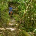 Der Wanderweg wird hier kubanisch begangen