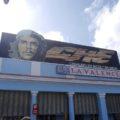 Typisches Stadtbild: Che Guevara an jeder Hauswand