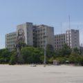 Che Guevara am Innenministerium am Plaza de la Revolucion
