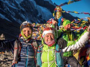 Wenn man den Thorung-La-Pass (5416 m) erreicht, kann schon mal die eine oder andere Freudenträne übers Gesicht rollen …