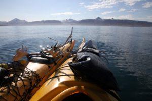 Wohl einer der schönsten Perspektivwechsel auf Spitzbergen