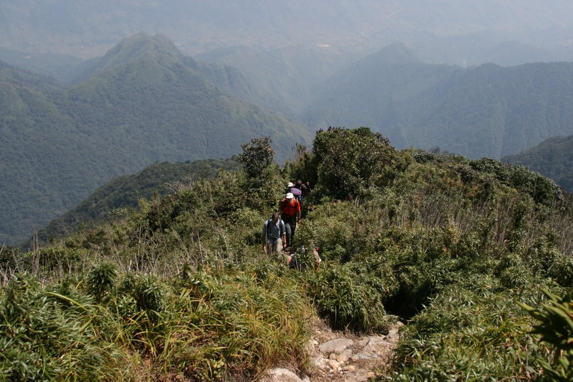Trekking zum Fansipan, dem Dach Indochinas